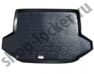 Коврик багажника пластик Chery Tiggo 5 2014- / L.Locker / 0114040300