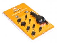 Устройство зарядное в прикуриватель для мобильных телефонов  8 в 1 / Airline / ACH-M-01