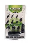 Устройство зарядное в прикуриватель для мобильных телефонов 10 в 1 черный  / CARLINE / CH-10-1B