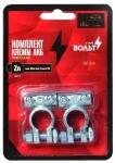 Комплект клемм АКБ цинковые 63 мм 2 винта М5 / СтартВОЛЬТ / SBT 014