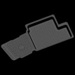 Коврики в салон резиновые CHERY Tiggo 2005- / REZKON / 1011020200