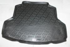 Коврик багажника полиуретан Mitsubishi Lancer седан 2003-2007 / L.Locker / 0108020101