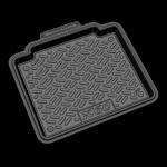 Коврики в салон резиновые LIFAN X60 2012- / REZKON / 1022015100