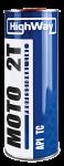 Масло High Way MOTO 2Т API TC / Полусинтетика (1л)