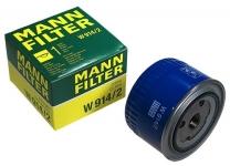 Фильтр масляный LADA 2105 2107 2110-2112 Priora Samara Kalina Granta Vesta Chevrolet Niva X-Ray / MANN / W914/2