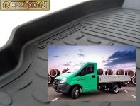 Коврики в салон резиновые ГАЗель NEXT перед ряд / REZKON / 1040005500