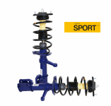 Комплект стоек LADA Kalina / АСОМИ / Спорт (-30мм)  передние в сборе А119.2901.030/031-30С