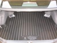 Коврик багажника пластик Toyota Corolla седан 2002-2007 / L.Locker / 0109020100