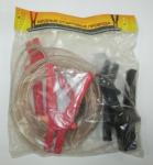 Провода прикуривателя 500А 3м в пакете силикон / Симпласт /