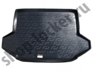Коврик багажника пластик Chery Tiggo 5 2014- / L.Locker / 0114040300