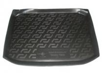 Коврик багажника пластик Skoda Fabia хэтчбек 2007- / L.Locker / 0116010300