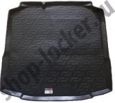 Коврик багажника пластик Skoda Rapid лифтбек 2012- / L.Locker / 0116070100