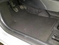 Коврики в салон EVA Lada Vesta 2015-2021 / ПТП64 / черные комплект 2725-Н
