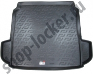 Коврик багажника пластик Citroen C4 II седан 2010- / L.Locker / 0122020400