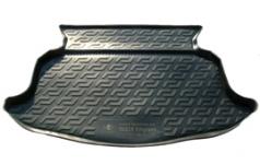 Коврик багажника пластик Geely Emgrand EC7 хэтчбек 2011- / L.Locker / 0125040200