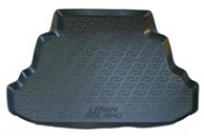 Коврик багажника пластик Lifan Solano 620 седан 2008- / L.Locker / 0131020100