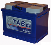 АКБ  66Ah 620A / TAB POLAR / BLUE полярность обратная