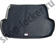 Коврик багажника пластик Subaru Forester IV 2012- / L.Locker / 0140010300