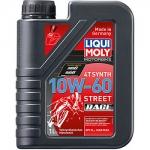 Масло LIQUI MOLY Motorbike 4T Synth Street Race 10W-60 / 1525 1L