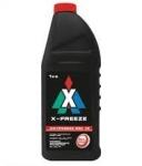 Антифриз X-FREEZE  G12 / красный / 1KG