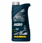 Масло MANNOL 2T AGRO TC  JASO FB / 1435 1L