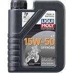 Масло LIQUI MOLY Motorbike 4T Offroad 15W-50 / 3057 1L