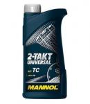 Масло MANNOL 2T UNIVERSAL TC JASO FB ISO L-EGB / 1408 1L