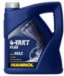 Масло MANNOL 4T PLUS 10W40 JASO MA/MA2 / 1425 4L