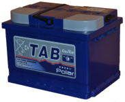 АКБ  55Ah 550A / TAB POLAR / BLUE полярность обратная