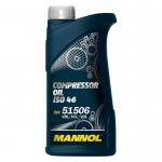 Масло MANNOL Compressor Oil ISO 46 компрессорное / MANNOL / 1923 1L