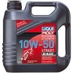 Масло LIQUI MOLY Motorbike 4T Synth Street Race 10W-50 / 7508 4L