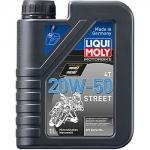 Масло LIQUI MOLY Motorbike 4T Street 20W-50 / 7632 1L