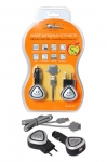 Устройство зарядное в прикуриватель или 220B для Iphone 4 и 5, micro USB / Airline / ACH-US-08