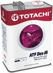 Масло TOTACHI ATF Dexron III / 4562374691186 4L