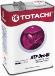 Масло TOTACHI ATF Dexron III / 4562374691186 4L