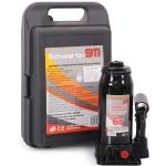 Домкрат гидравлический  6 тонн (200-405 мм) SCHWARTZ-911 в кейсе / AZARD / DOMK0009
