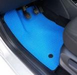 Коврики в салон EVA Lada Vesta 2015-2021 / ПТП64 / синие, кант синий комплект 3272-Н
