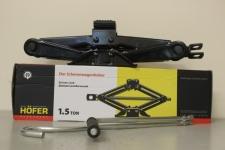 Домкрат ромбический 1.5 тонны (110-360мм) / HOFER / HF 901007