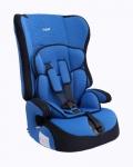 Автокресло детское 1,2,3 группа 9-36кг цвет синий / AZARD / KRES0005