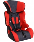 Автокресло детское 1,2,3 группа 9-36кг цвет красный / AZARD / KRES0045