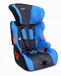 Автокресло детское 1,2,3 группа 9-36кг цвет синий / AZARD / KRES0047