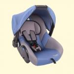 Автокресло детское 0+ группа 0-13кг цвет синий / ZLATEK / KRES0184