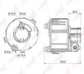 Фильтр топливный Hyundai Solaris Kia Rio III / LYNX / LF-993M