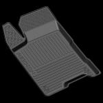Коврики в салон резиновые Lada Vesta 2015- / REZKON / Light 1039045200