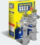 SS20 Комплект стоек LADA 2110 / СТАНДАРТ масло  передние 2шт SS20105