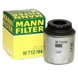 Фильтр масляный / MANN / W712/94