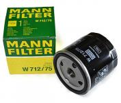 Фильтр масляный / MANN / W712/75