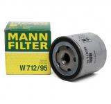 Фильтр масляный / MANN / W712/95