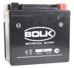 АКБ 12V  6Ah 130A / BOLK / MOTO полярность обратная