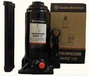 Домкрат гидравлический 10 тонн (200-390 мм 2 клапана) / БелАвтоКомплект / БAK.00032